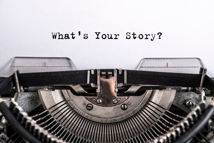 Header image for a post about what copywriters can learn from fiction writers