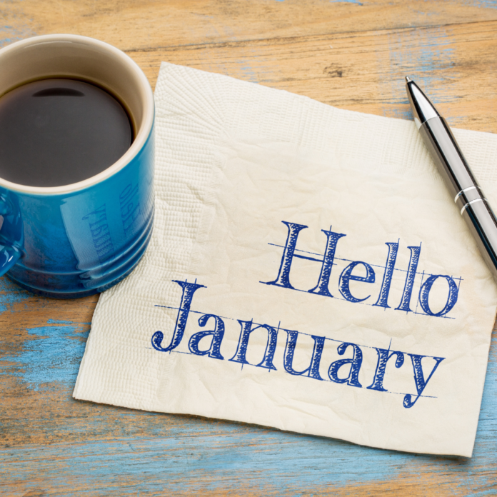 Header for monthly wrap-up January 2021